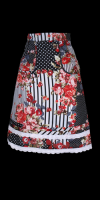 Marcs Cotton Print Skirt